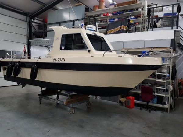 Orka 700 zeevis/werk/duikboot nieuwstaat, Volvo Penta 170 Pk